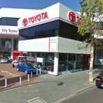 City Toyota shop in Perth