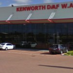 Kenworth shop in Perth