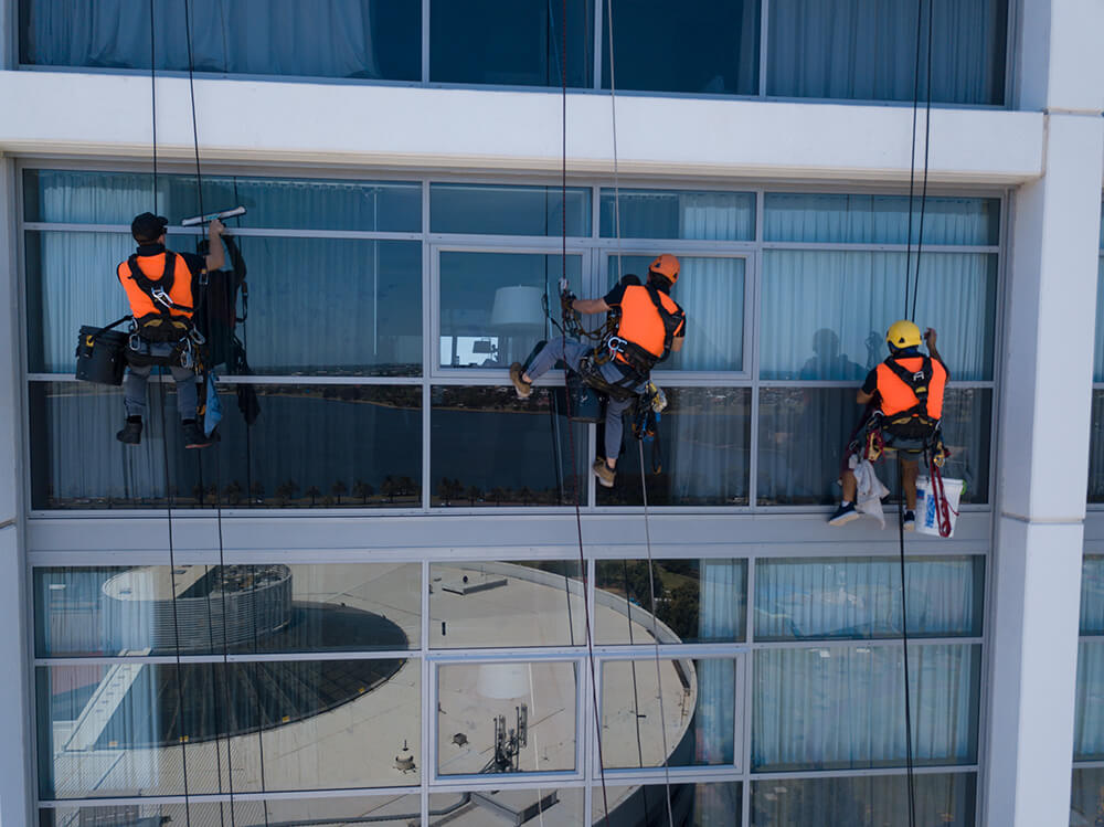 Professional window cleaners in perth